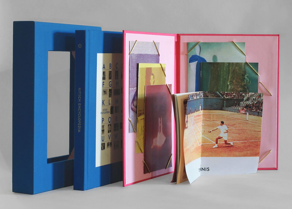 Kitsch Encyclopedia Special Edition Small Editions Printing And Binding Limited Edition Book Book Cover