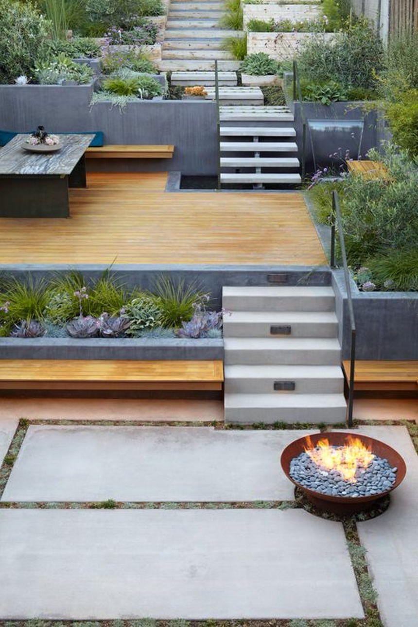 Modern Garden Decor And Landscape Ideas Diy Backyard Landscaping Backyard Landscaping Backyard Landscaping Designs Modern outdoor landscaping ideas