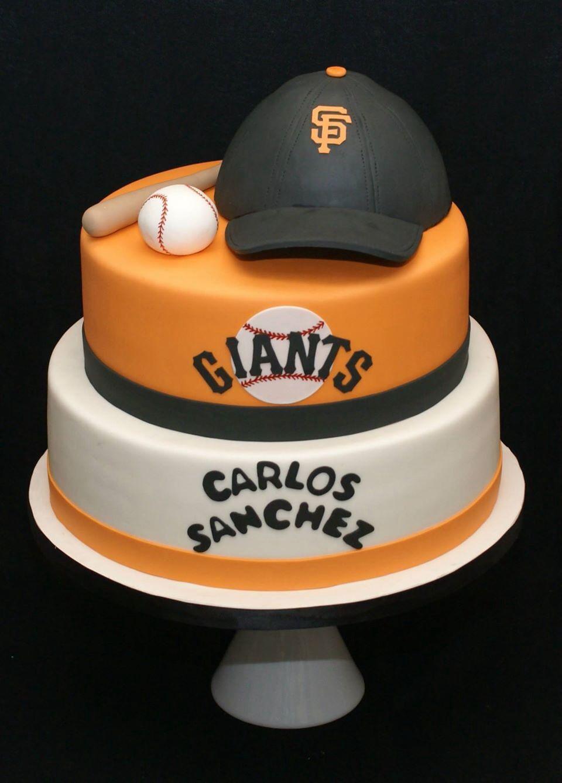 San Francisco Giants cake!!! Www.docecake.com | Elijah's Birthday in ...