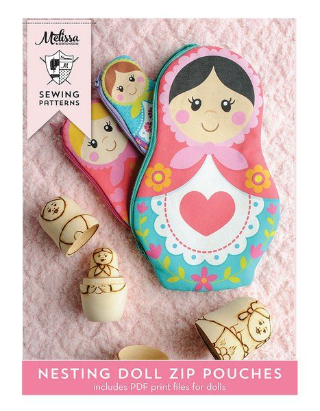 Image of Nesting Dolls PDF Sewing Pattern and Printable Pattern Pieces