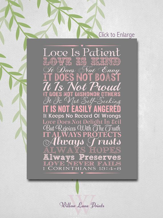 Another Great Find On Zulily 1 Corinthians 13 4 8 Wall Art Zulilyfinds With Images Framed Words Wooden Wall Art 1 Corinthians