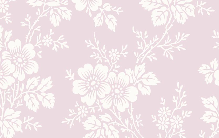 Fondo De Pantalla Flores Blancas En Fondo Rosa: Papel Pintado Con Flores Blancas Vintage Fondo Rosa, Telas