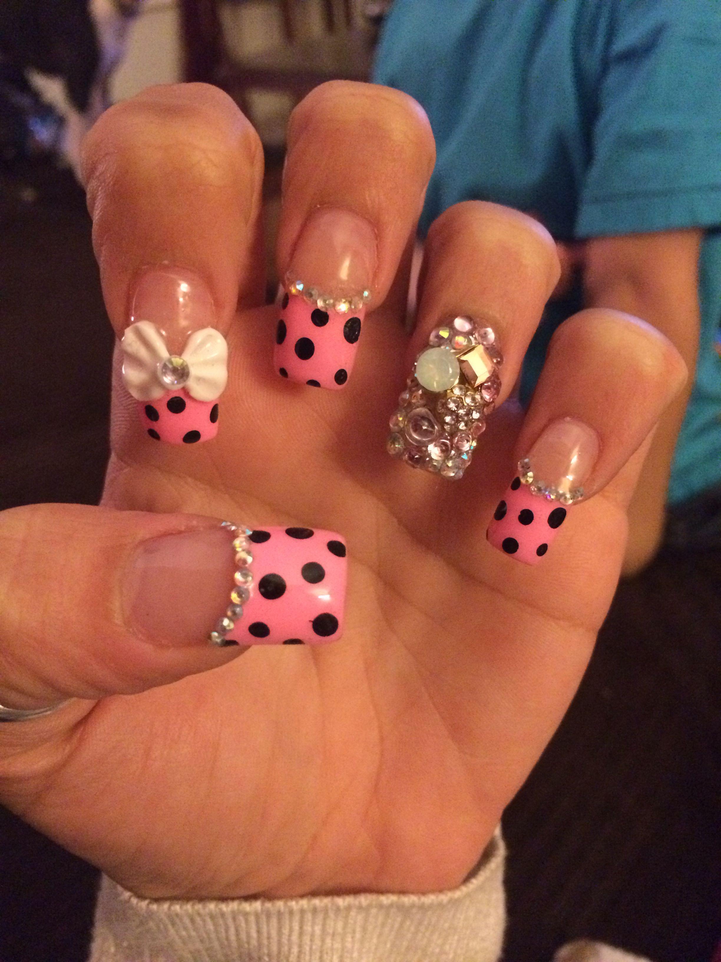Vi Nail Art Design East Haven Ct Nails Pink Nails Hot Nails