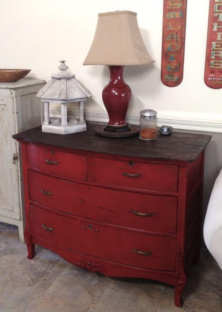 It S Just Me The Dresser I Almost Let Get Away Furniture Rehab Diy Redo Furniture Red Furniture