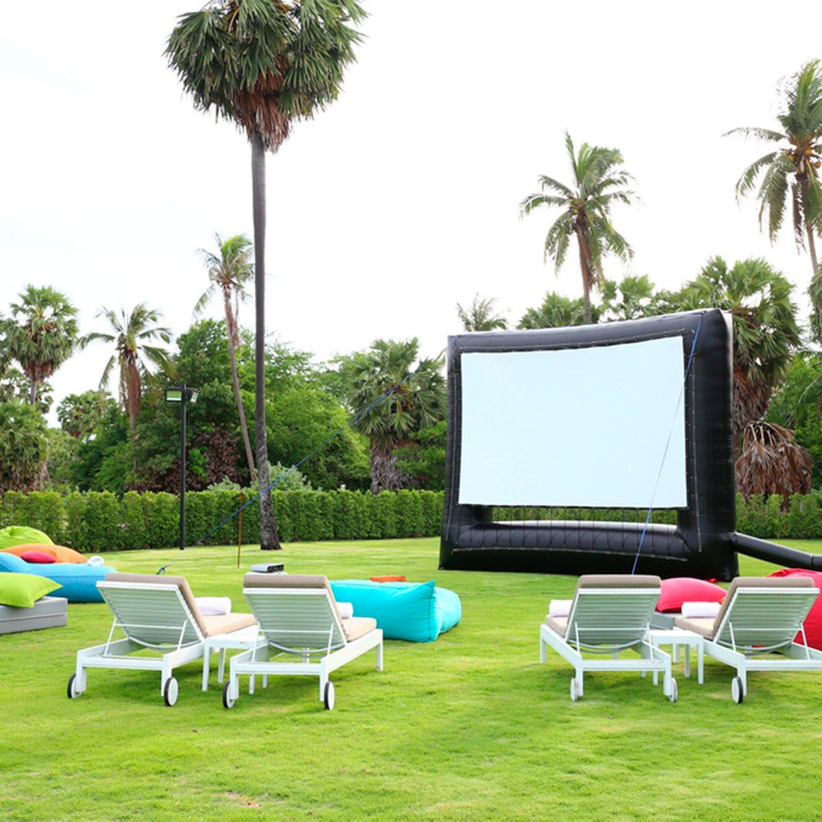 What You Need For A DIY Backyard Movie Theater