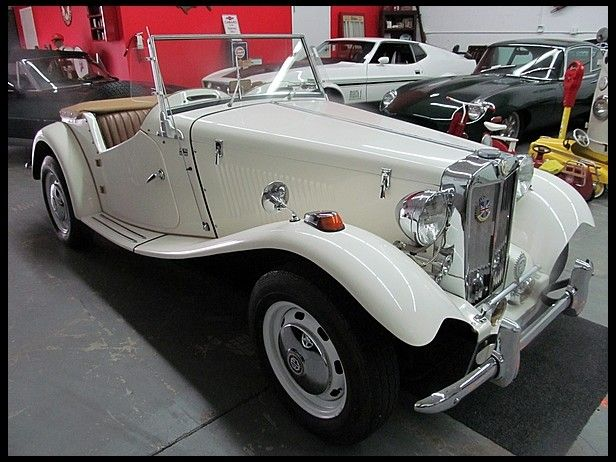 1952 mg td replica convertible had one built on a pinto frame auction lot kissimmee fl 1952 mg td replica convertible titled as 1973 volkswagen full top side curtains like new tonneau cover nice interior