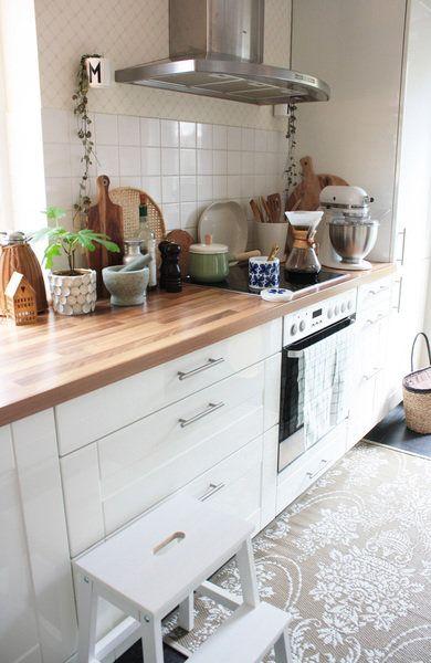 Zu Hause fühle ich mich wie in den Ferien in Bullerbü!\ - küche selber planen