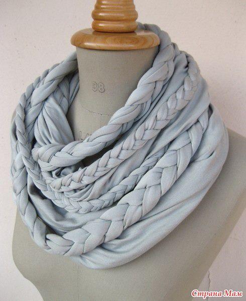 шарф-колье | Сделать шарф, Идеи для поделок, Ручная работа