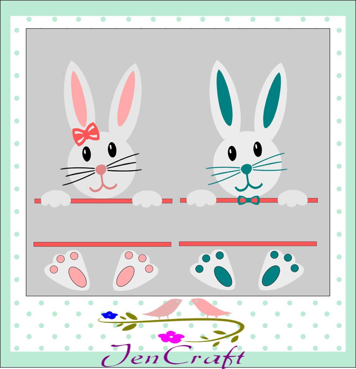 Easter Svg, Easter Bunny Svg, Easter Split Svg, Easter ...