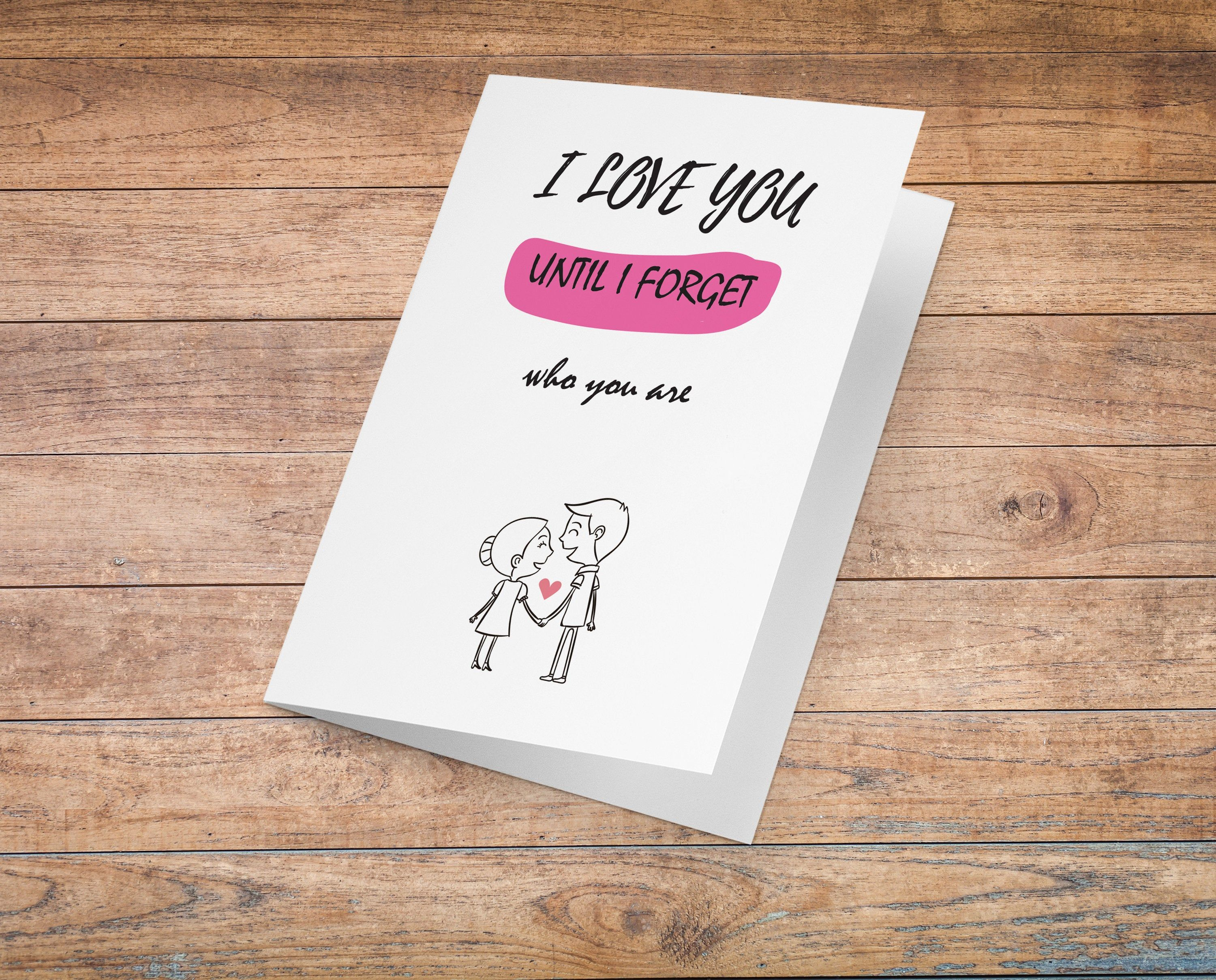 Funny I Love You Card Funny Anniversary Card Valentines Day Etsy Funny Anniversary Cards Anniversary Funny Love Cards