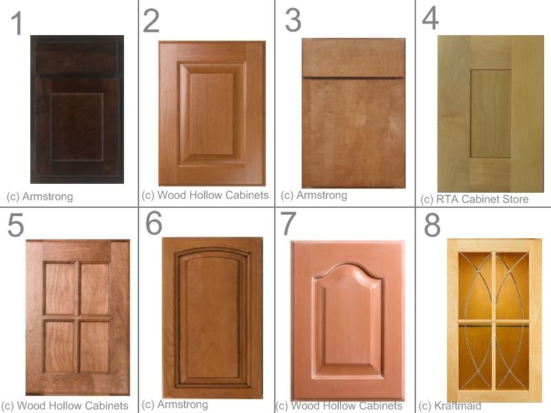 Learn basic cabinet door styles for kitchen and bathroom. & kitchen+cabinet+fronts   Raised Panel Cabinet   Wooden signs ...
