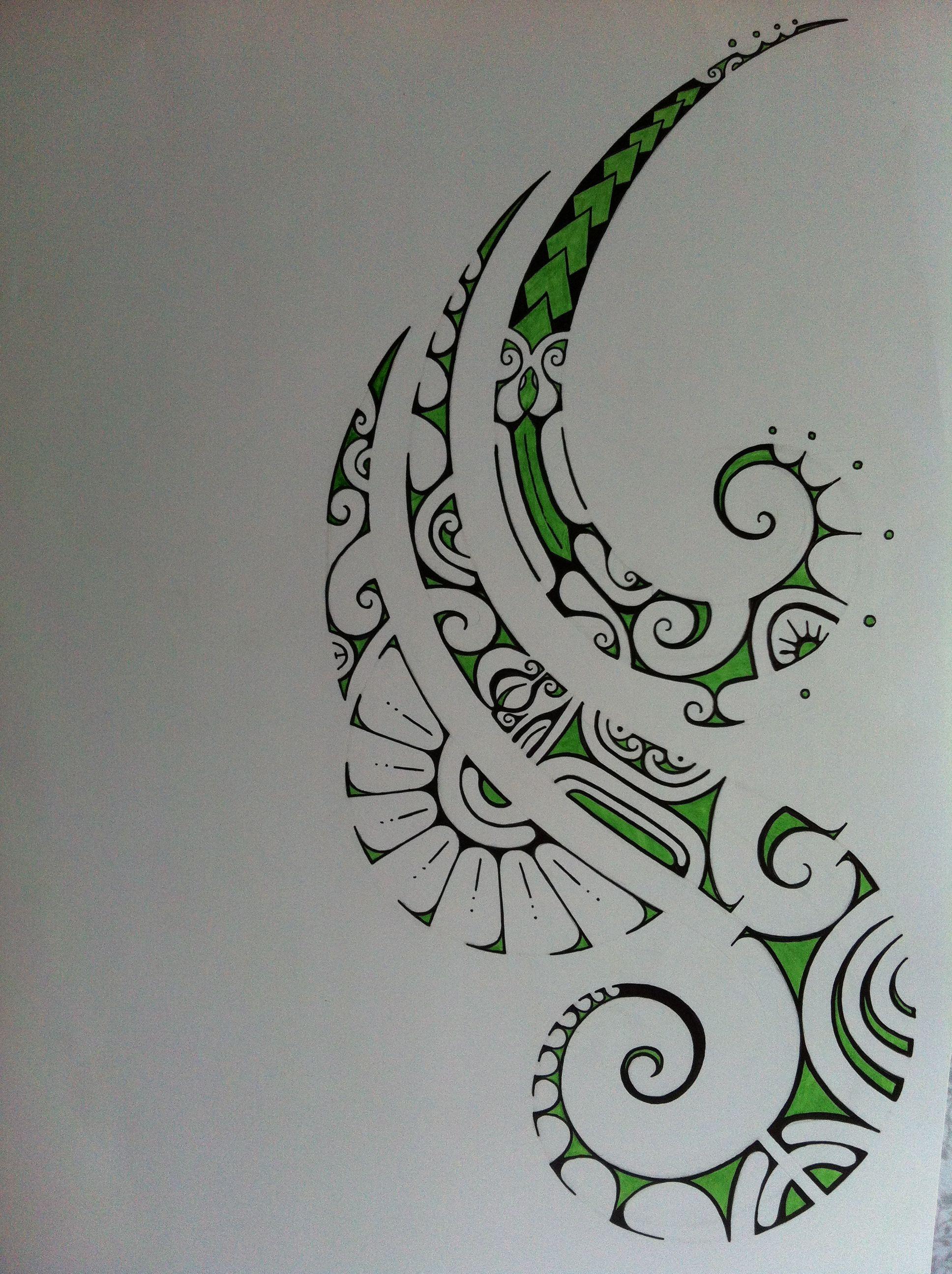 Art Design Drawing : Pretty polynesian tattoo drawing tattooooooos