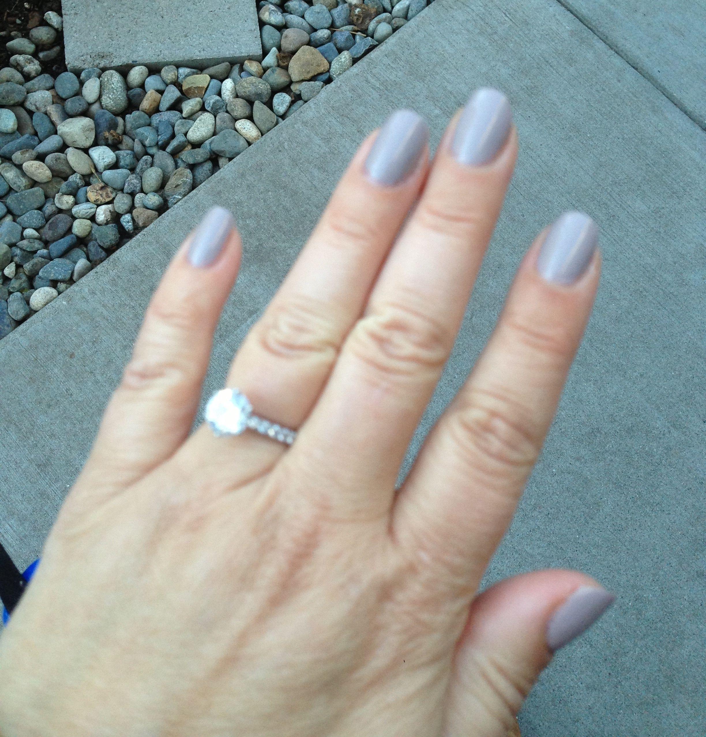 A fun summer nails color...the nail strengthener formula is a bonus ...
