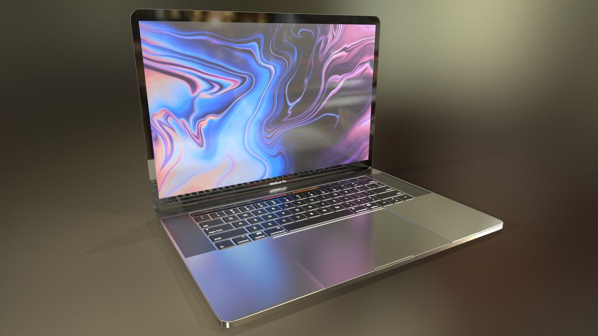 New Gen MacBook Pro - PBR