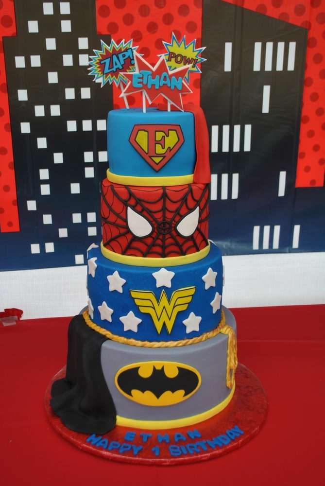 Pin On Party Time Super Hero Parties