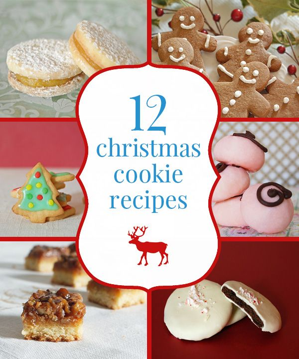 12 christmas cookie recipes from simple to elaborate - Homemade Christmas Cookies Recipe