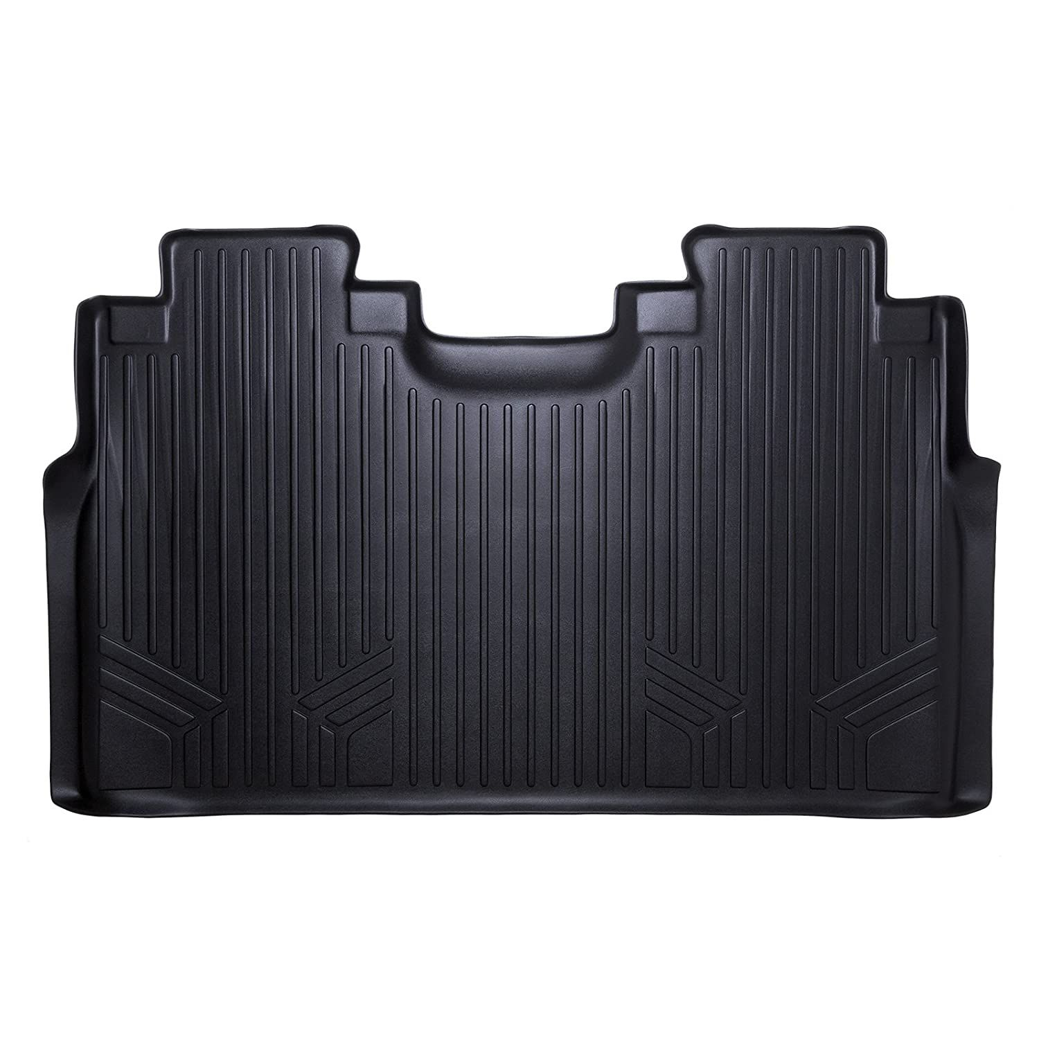 SMARTLINER Floor Mats 2nd Row Liner Black for 20152018