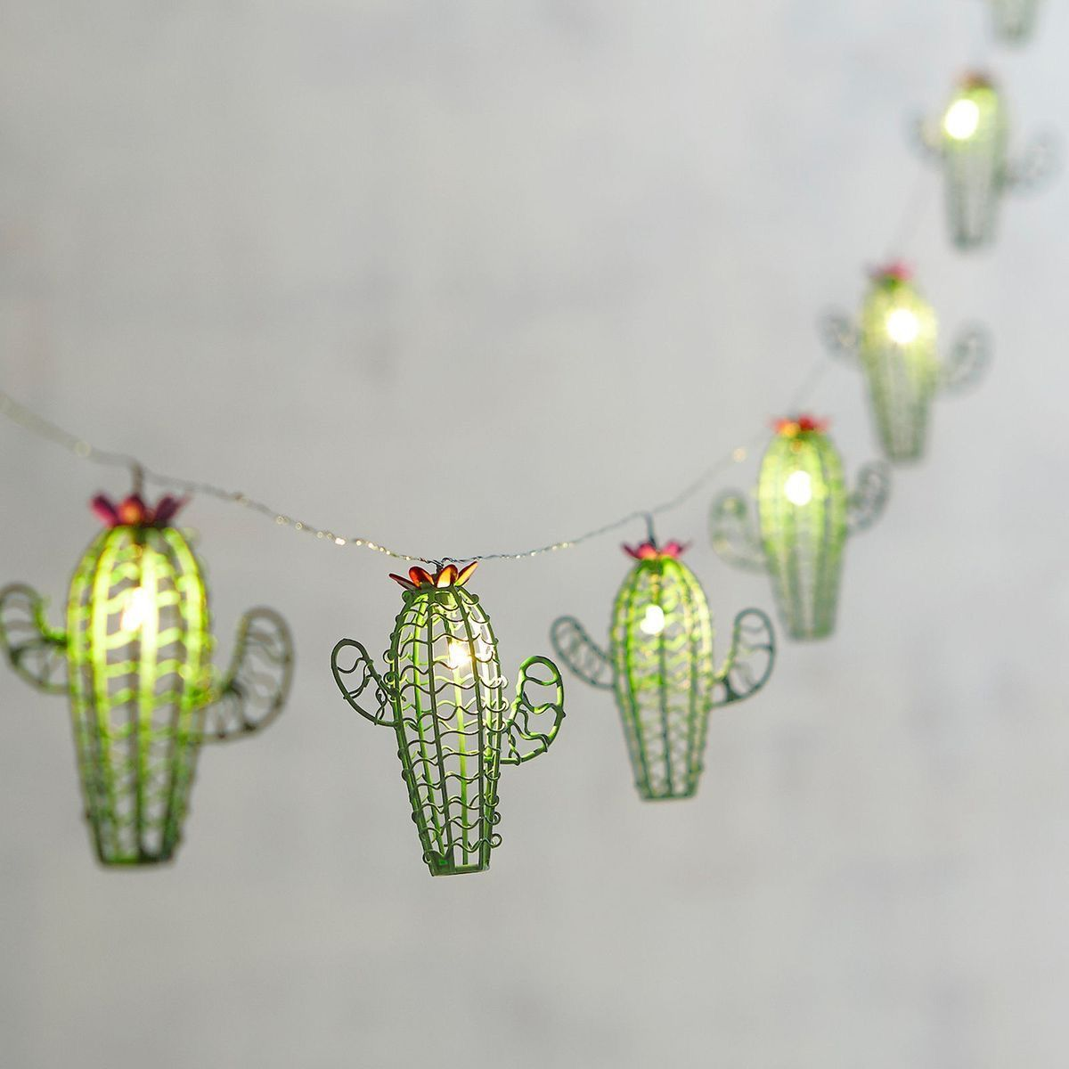 Cactus lights for those summer vibes