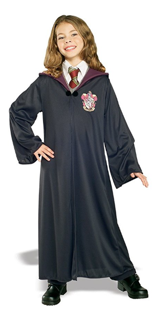 Harry Potter Kids Hermione Granger Costume Robe Officially Licensed Ankle Length Harry Potter Hermione Granger Costume Hermione Costume Harry Potter Costume
