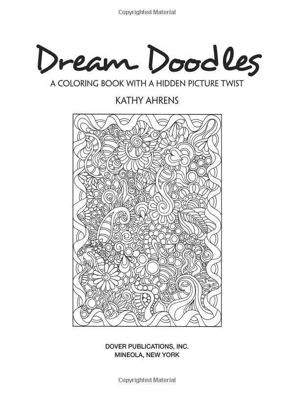 Amazon Creative Haven Dream Doodles A Coloring Book With