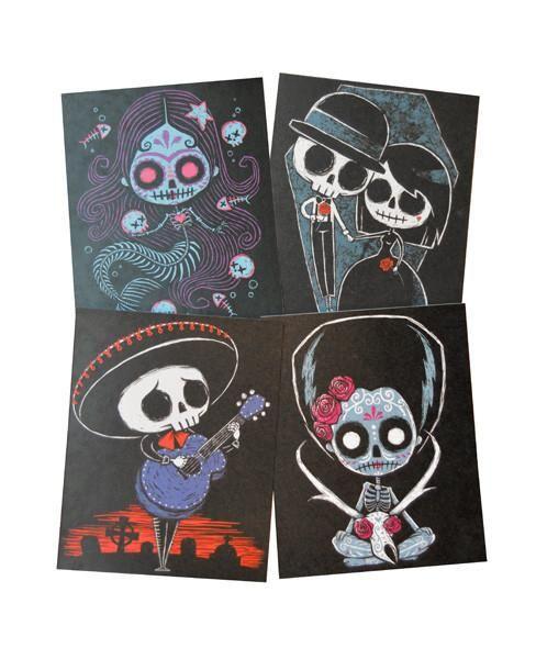 Dia de los Muertos Pack :: Art Prints