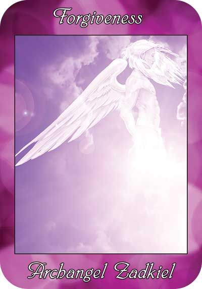 Angel Card Reading Free From Archangel Zadkiel Oracle Cards And