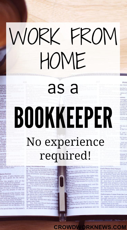 Work From Home As A Bookkeeper | Hogar