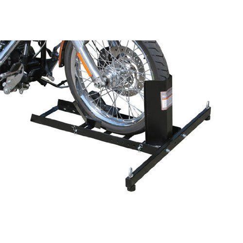 Motorcycle Wheel Chock Stand Mount Truck Trailer Floor Lift Stand Chock Motorcycle Wheel Chock Quantity 1 W Bike Repair Stand Motorcycle Wheels Bike Repair