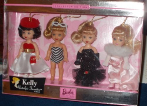 Barbie Collectibles Kelly Nostalgic Favorites Giftset