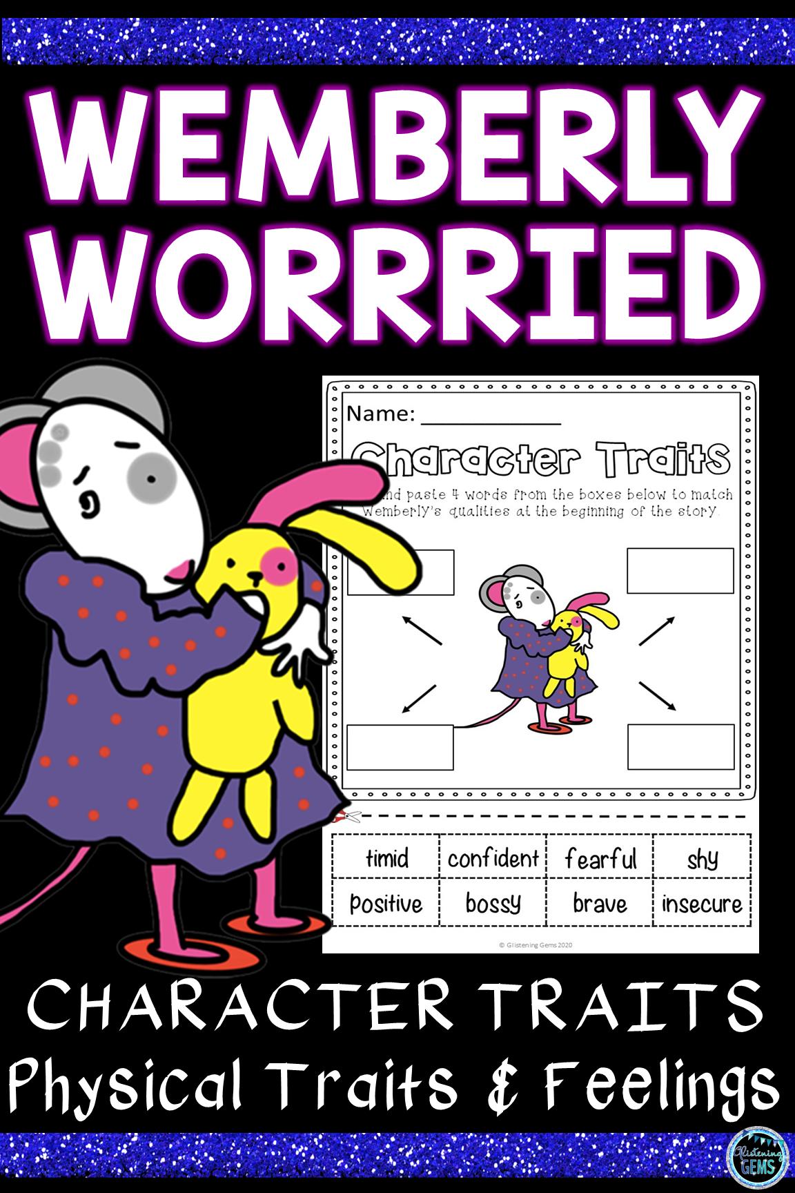 Wemberly Worried Activities In