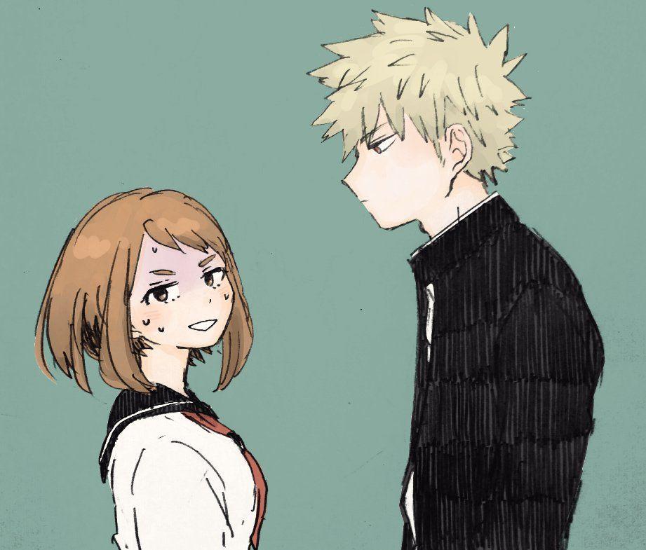 Wallpaper Couple Anime Fumikage Tokoyami Tsuyu Asui Anime My Hero Academia Tsuyu My Hero Academia Shouto