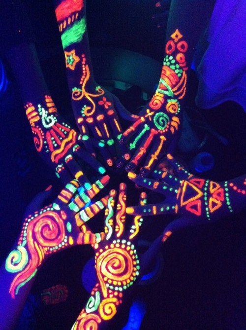 Neon Paint Party Tumblr