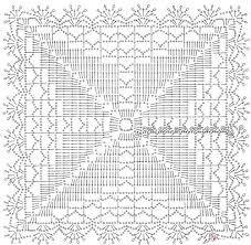 Resultado de imagem para ажурные квадраты крючком схемы