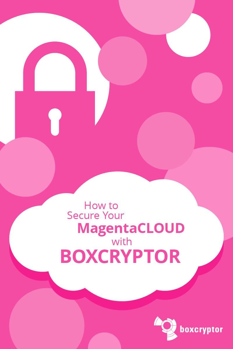 Magentacloud Sicher Nutzen Mit Verschlusselung Verschlusselung Verschlusseln Datenschutz