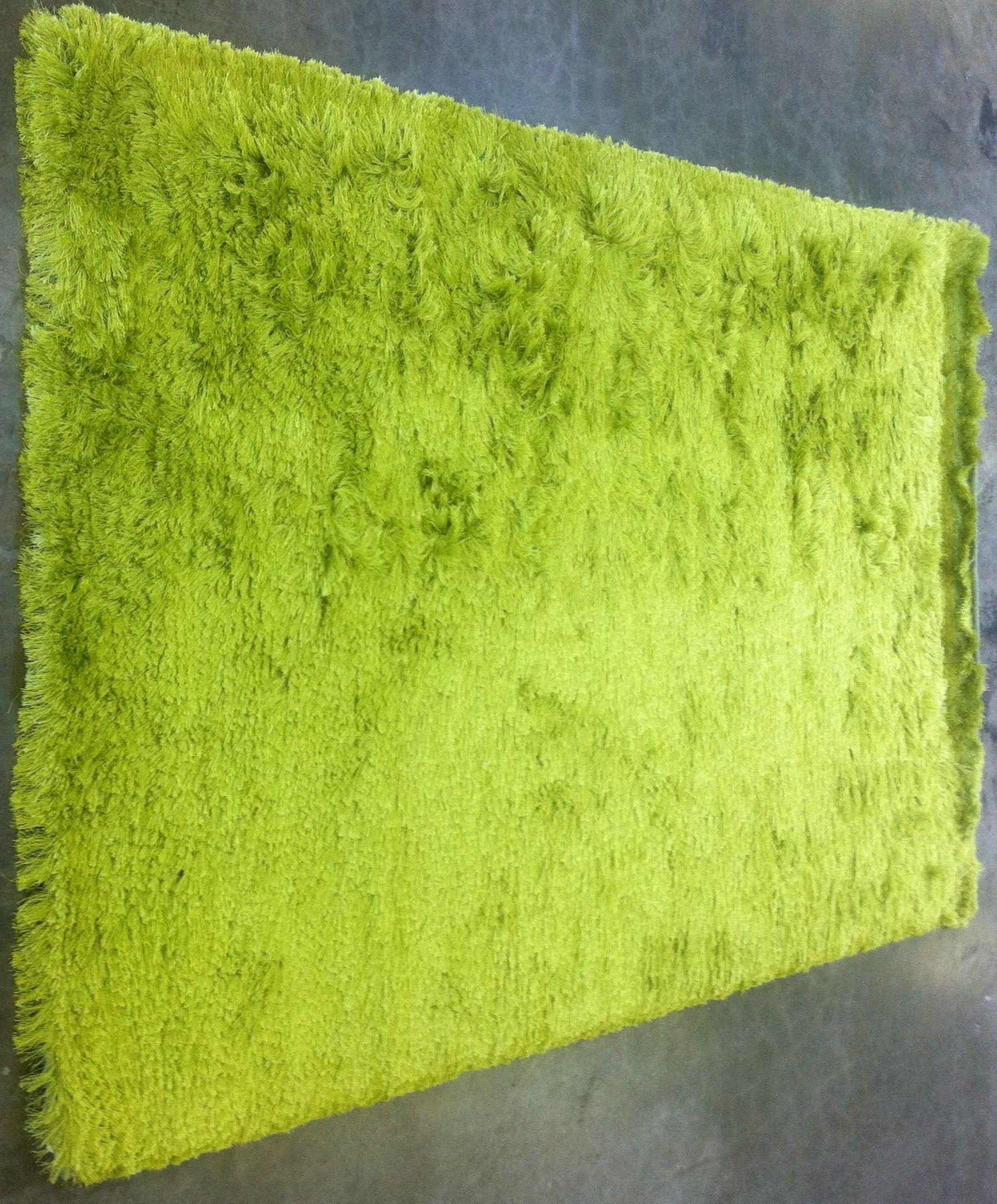 Lime Green Shag Rug Tessa' Decked Dorm Decor