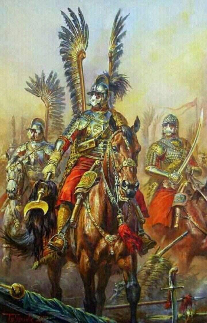 Polish heavy cavalary XVII th.