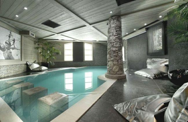 Coole Pool Im Garten Oder Im Haus Bauen   105 Bilder Von Schwimmbecken  Modelle