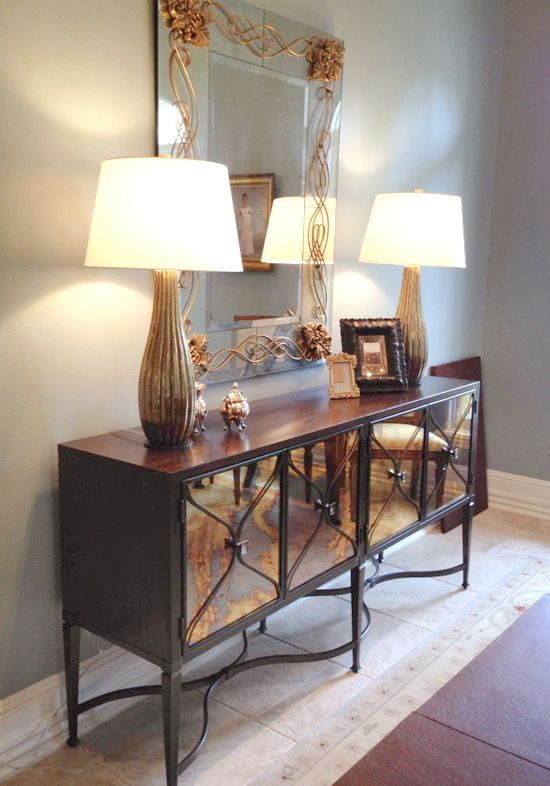 Anne Rue Interiors Going Glam Dining Room