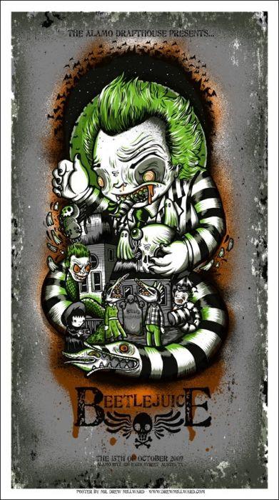 Mondo: El Archivo | dibujó Milward - Beetlejuice, 2009