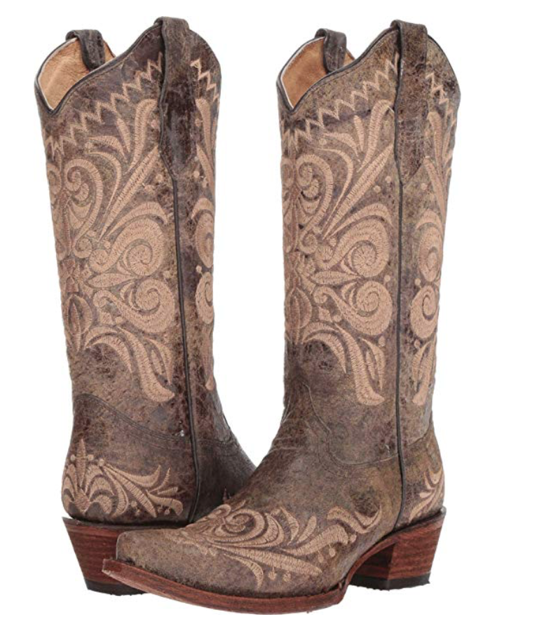 Brown Cowboy Boots Cowboy Boots Women Outfits Brown Cowboy Boots Boots