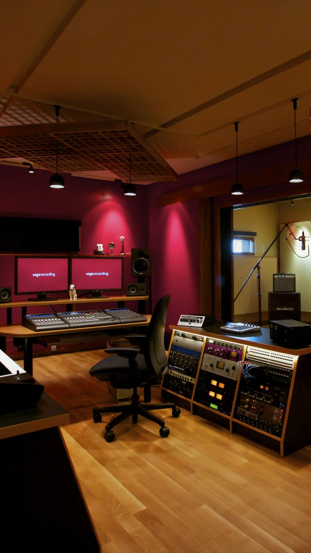 Recording Studio Full HD Wallpaper And Background X ID