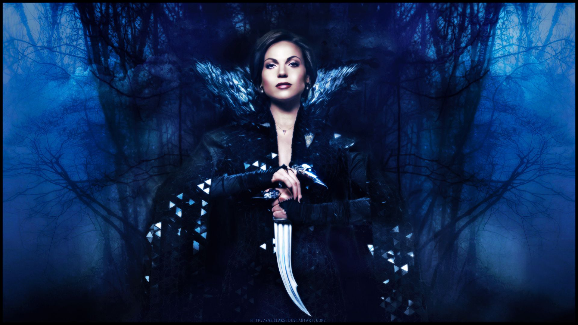 Wallpaper of Queen Regina for fans of Once Upon A Time.
