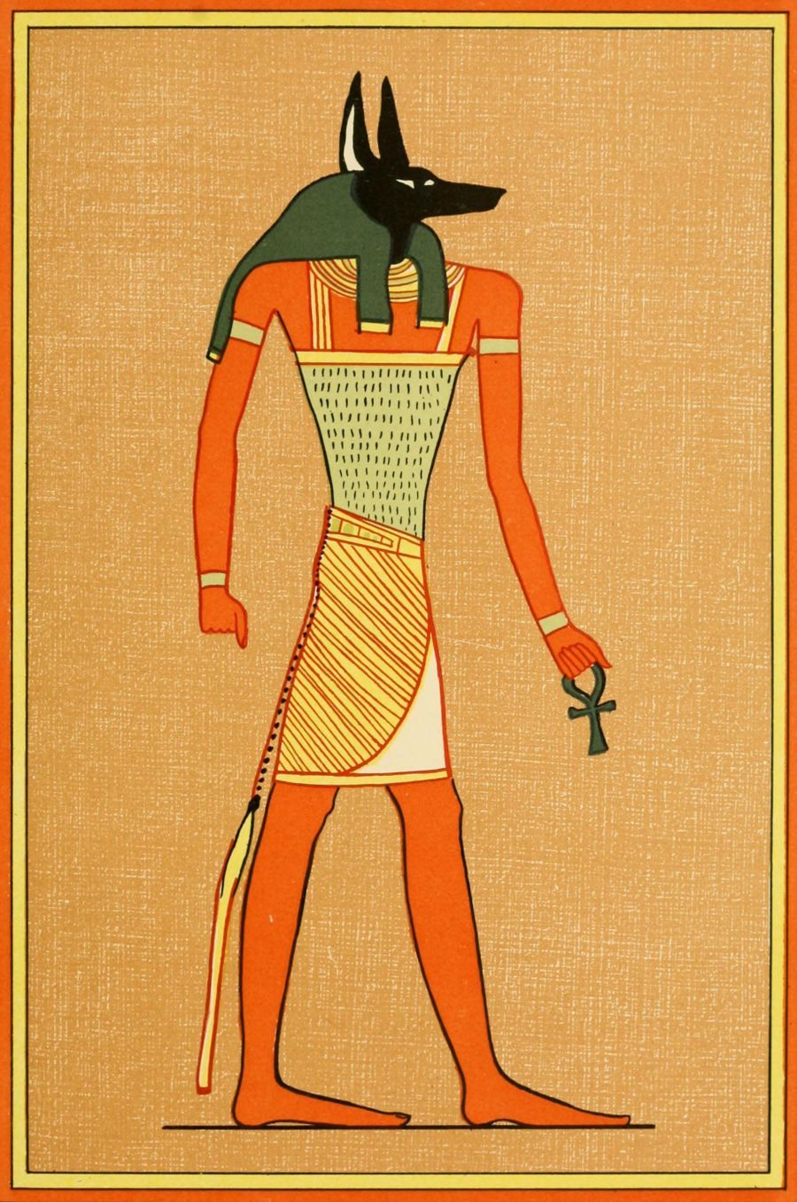The Gods of the Egyptians 1904, Anubis - the god of the dead. #egypt ...