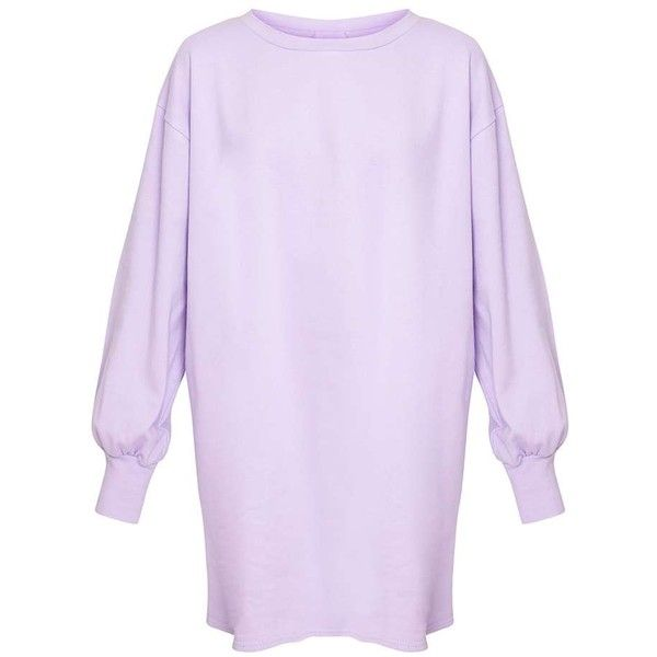 000b952d3b5 Sianna Dark Mauve Oversized Sweater Dress ( 21) ❤ liked on Polyvore  featuring dresses