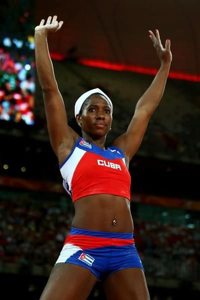 Yarisley Silva, winner of the pole vault at the IAAF World Championships, Beijing 2015 (Getty Images)