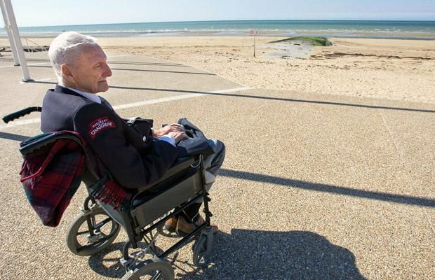 D-Day 65 years on: World War II veterans return to Normandy ...