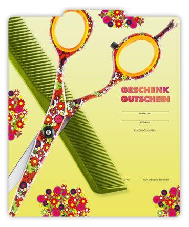 Gutschein Fur Friseure K281 Gutscheine Gutschein Basteln Geschenke