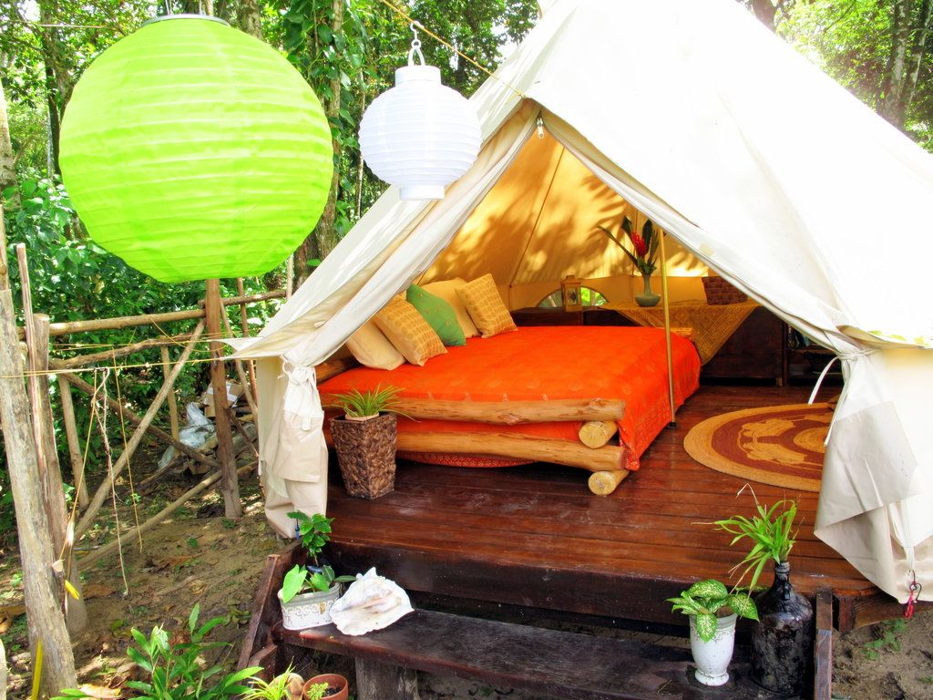 Red Frog Beach Island Resort Certified For Its: Palmar Tent Lodge (Isla Bastimentos, Panama) Red Frog