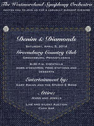 Denim And Diamonds Party Invitations And Products Womans Birthday
