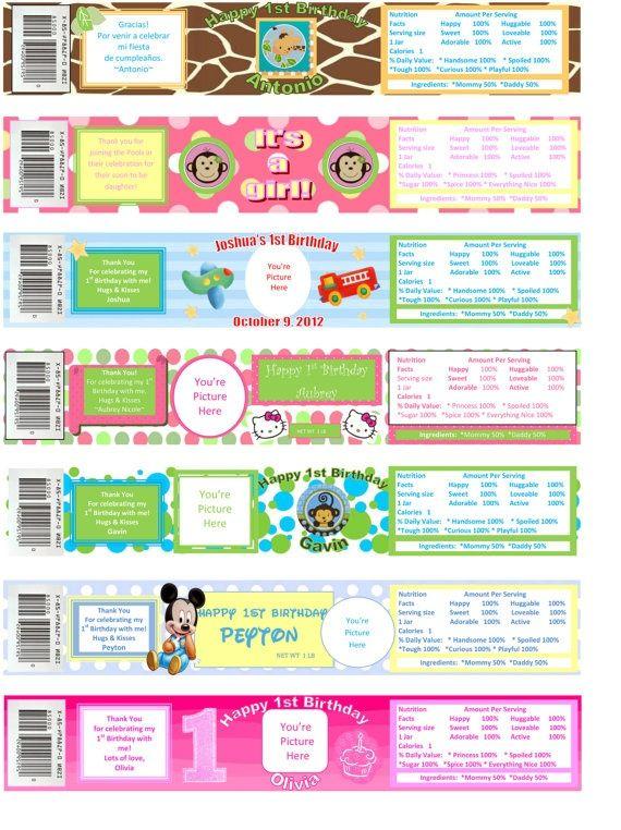 Old Baby Food Labels Google Search Baby Food Jars Baby Food Jar Crafts Birthday Labels Printables